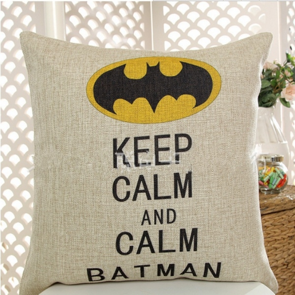 Outstanding Europe And The United States Cotton Printing Letters Superman Batman Car Set Custom Sofa Cushion And Pillow Evergreenethics Interior Chair Design Evergreenethicsorg