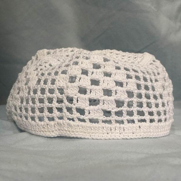 Wish Islamic Knit Kufi Hat 100 Cotton Koopy Cap Crochet Beanie