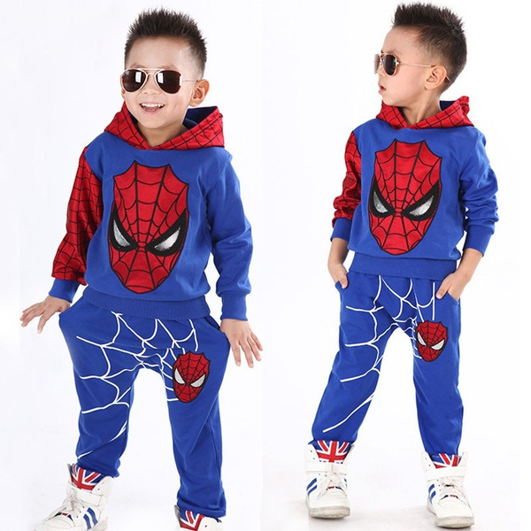 Childrens Clothing Girls Spring Autumn Sports Leisure Two-Piece Kids Suit Sets