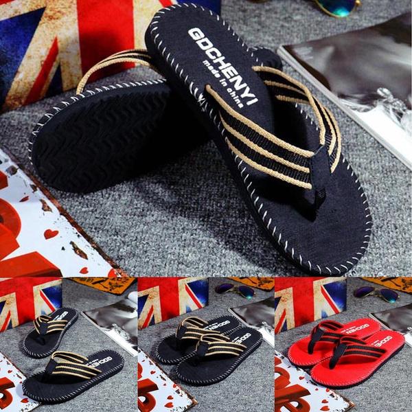 Picture of Bpfair Men Summer Flip Flops Shoes Sandals Male Slipper Flip-flops