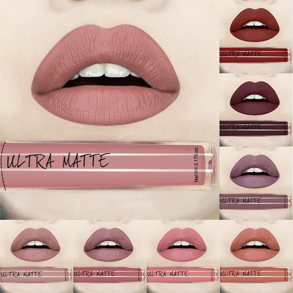 Picture of Sexy Matte Long Lasting Liquid Lipstick Watrer Resistant Lip Gloss For Women And Girl 12 Color