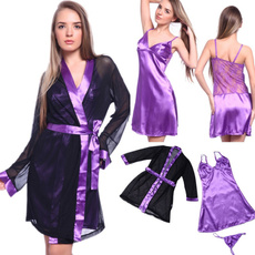 gowns, sexy sleepwear, Fashion, purple