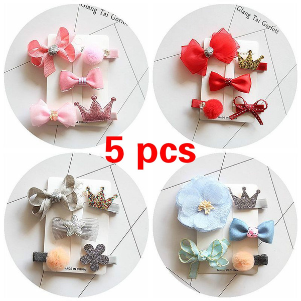hairaccessoriesset, Flowers, ribbonsampbow, Pins
