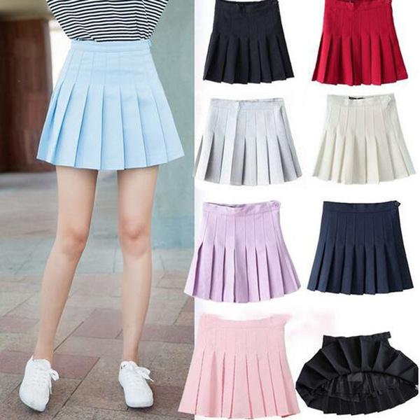 Slimwaist, Mini, Fashion, skirts female