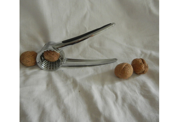 1pc zinc alloy  Funnel nut apricot hard shell opener walnut Macadamia cracker