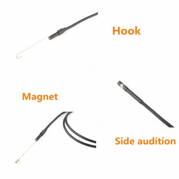 2017Newest Nice 7mm Endoscope Waterproof Borescope Inspection Camera 6 LED For Andorid Phone