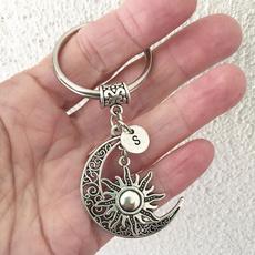 monogram, Charm Jewelry, Key Chain, motherdaysgift