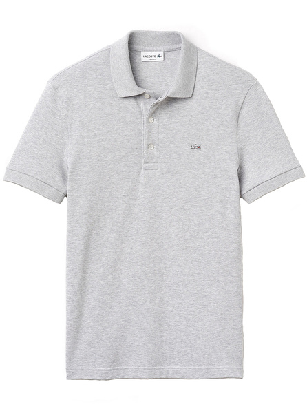 Lacoste Wish In Mens Stretch Chine Silver Polo Pique 48qdPw8