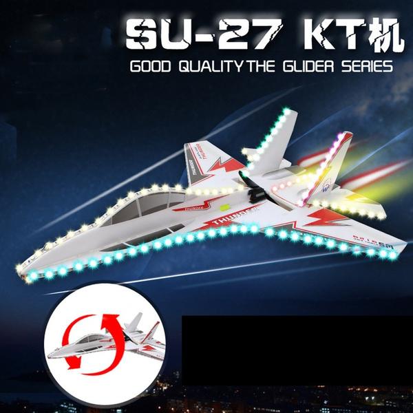 New Arrival KT SU-27 Airplane/Jet + 6CH RC Fighter Foam Glider Kits