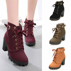 PU, Buckles, short boots, Boots