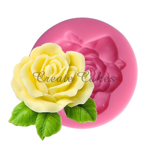 caketool, Flowers, rosecupcake, Silicone