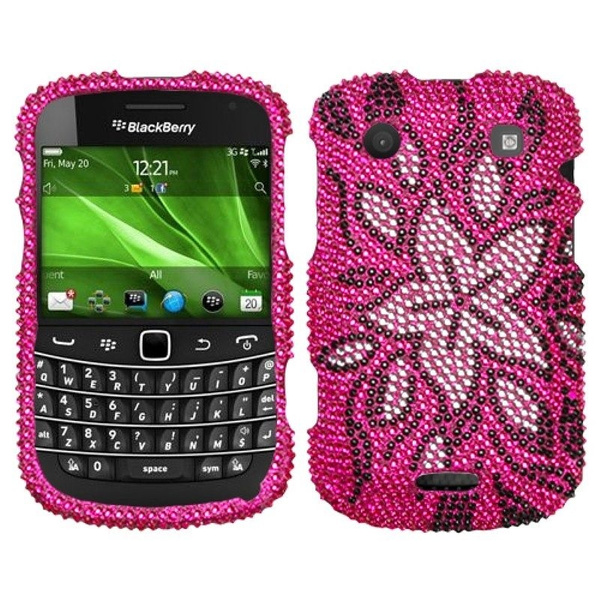 latest promo codes los angeles BlackBerry Bold 9900/9930 Bold Touch 9900/9930 Case, by Insten Tasteful  Flowers Rhinestone Diamond Bling Hard Snap-in Case Cover For BlackBerry  Bold ...