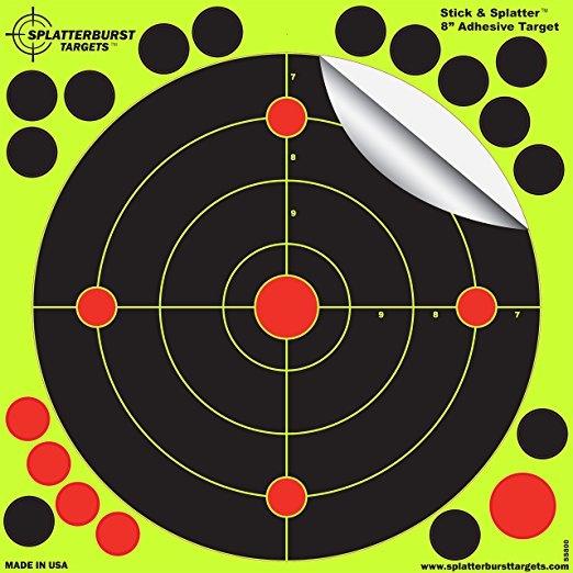 8inch, ringpapertargetface, greenadhesivetarget, archeryrange