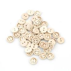 sewingknittingsupplie, woodbutton, Love, handmadebutton