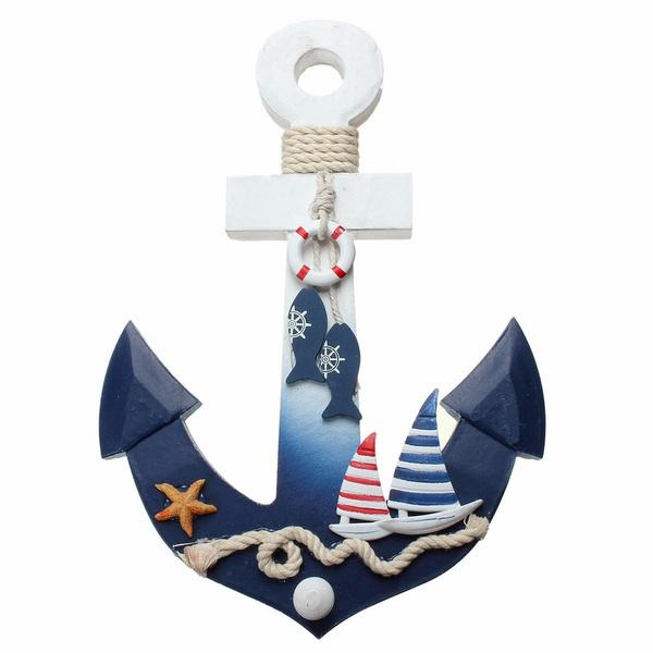 shipstarfishhook, Decor, woodenwallhanging, Door