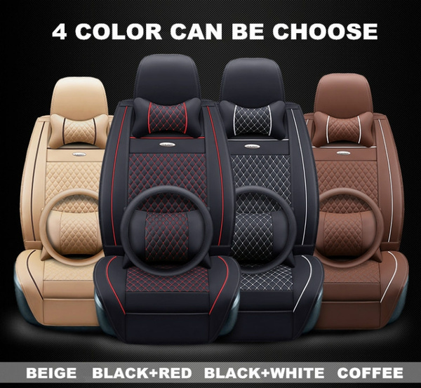 Astonishing Comfortable Luxury Danny Leather Car Seat Cover For Bmw X5 For Bmw X6 For Bmw Audi Universal Auto Seat Cover Protect Car Seat Cushion Car Interior Theyellowbook Wood Chair Design Ideas Theyellowbookinfo