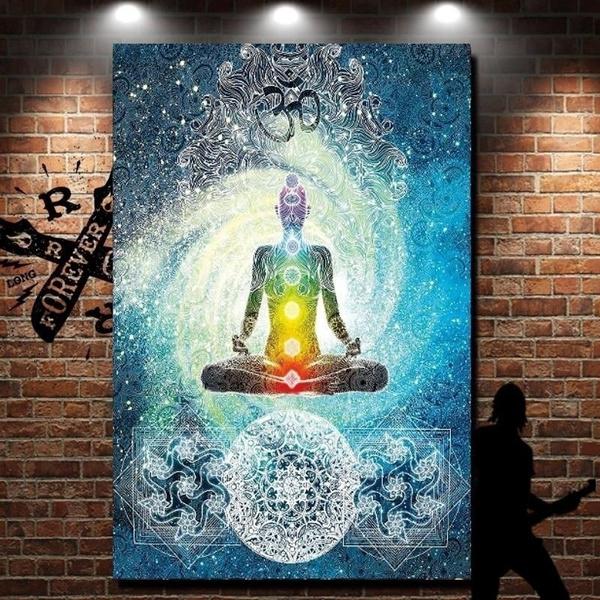 Wish Indian Tapestry Yoga Decor Mandala Zen Wall Meditation Batik