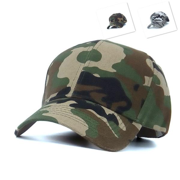 52efee19d45da Mens Army Camo Cap Baseball Casquette Camouflage Hats For Men Hunting  Camouflage Cap Women Blank Desert Camo Hat