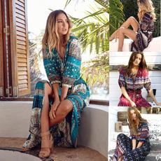 summerwear, Fashion, Floral print, hippie