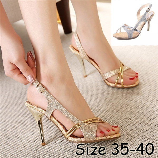 Picture of New Summer Sandals Fine With Sandals Fish Mouth High-heeled Shoes Sandals Shoes