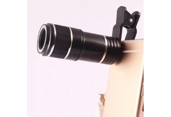 Universal zoom optische clip handy teleskop kamera objektiv