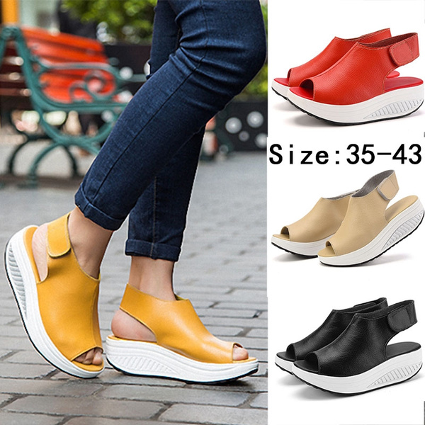 Picture of Fashion Shoes Summer Home Sandals Leather Flat Shoes Casual Shoes
