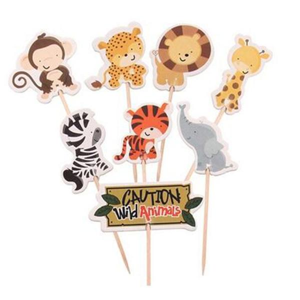cupcaketopperspicksbirthday, animalcaketopper, caketopperpick, Animal