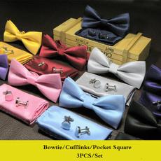 Men Cufflinks, Necktie, pocketsquare, slim