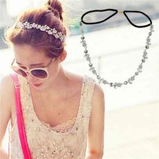 Flowers, crystalhairband, European And American Fashion, prettyhairband