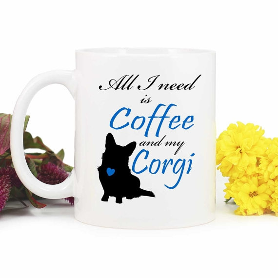Mug dog 1 Lover coffee 072 cute cardigan corgi Coffee dog Corgi Is CupMug Gift I Need Mug MugMug all uFK35T1lJc