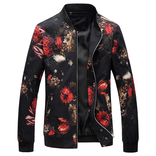 4d9b1f575c New Arrival Design Totem Floral Shirt Slim Korean Mens Long-sleeved Shirt  Personalized Men Shirts(XXS,XS,S,M,L,XL,XXL)