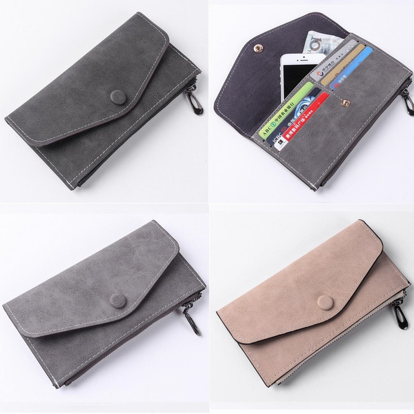Picture of Fashion Women Ladies Clutch Long Purse Pu Leather Wallet Card Holder Handbag Phone Bag