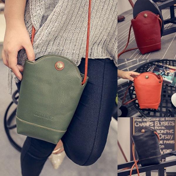 Picture of Women Messenger Bags Slim Crossbody Shoulder Bags Handbag Small Body Bags