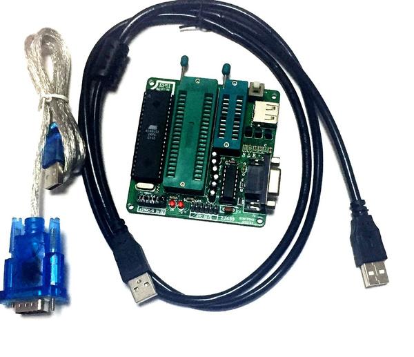 Latest Single-chip programmer EP51 burner for AT89 STC series DIP20 40 18 20 28
