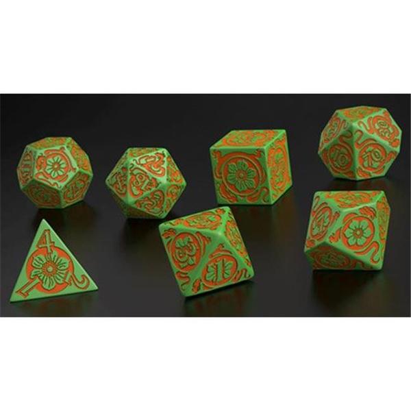 Board Games 7 Q Workshop Pathfinder Jade Regent Dice Set