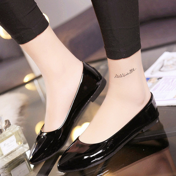 Picture of Candy Colors Women Ladies Ballet Flat Casual Single Shoes