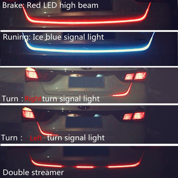 Car Vehicle Tail Light Lamp Strip