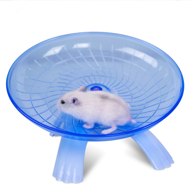 New Running Disc Flying Saucer Exercise Wheel Toy for Mice