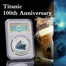 coinscollection, silvercoin, Gifts, titaniccoin