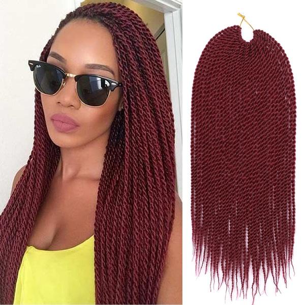 Wish 1pcs 18 30roots Crochet Senegalese Twist Hair Micro Braids