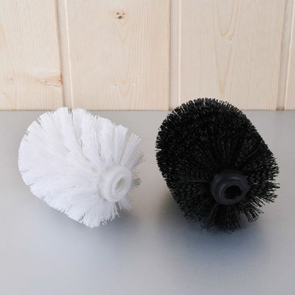 Universal Toilet Brush Head Holder Replacement Bathroom WC Clean Accessory Spare