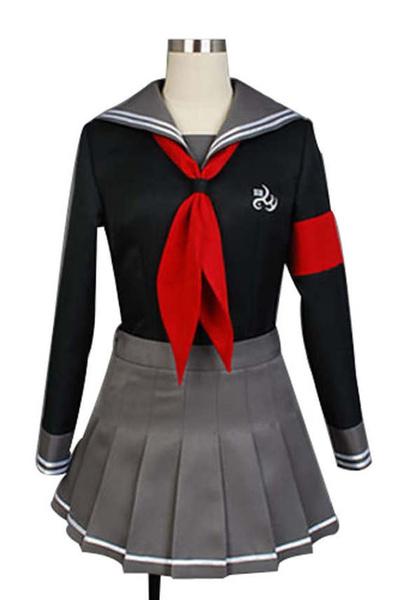 Danganronpa Dangan-ronpa Peko Pekoyama School Uniform Outfit Set Cosplay Costume