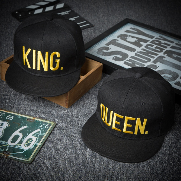 QUEEN KING Snapback Fashion PRINTED Snapback Cap Hip-Hop Hat Caps Hats 1 hat