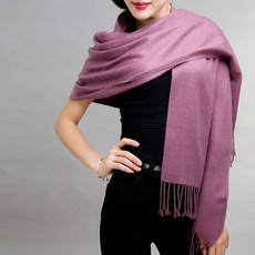 Fashion, Winter, solid, Shawl