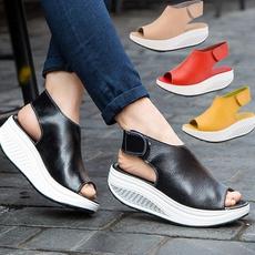 swingshoe, Fashion, leather, Peep Toe