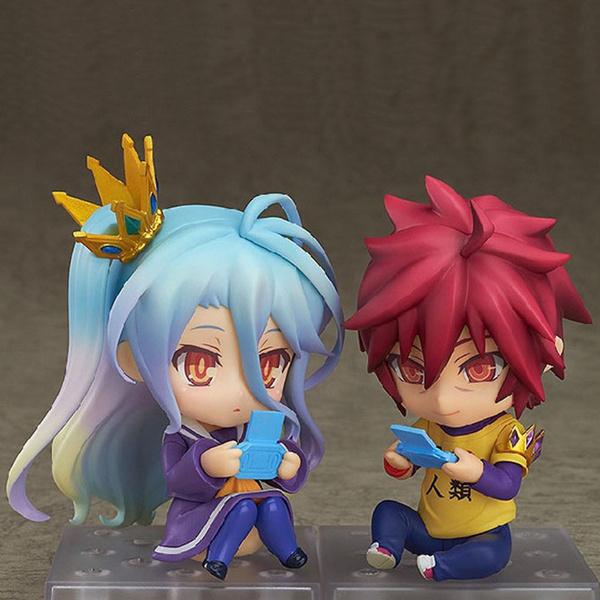Nendoroid 652 Anime No Game No Life Sora PVC Figure Toy Gift New No Box