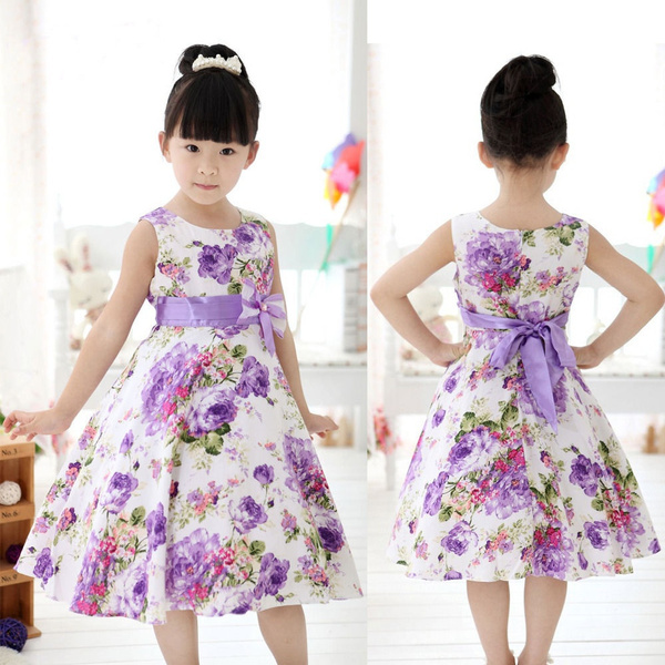 Chic, gowns, girls dress, Flowers