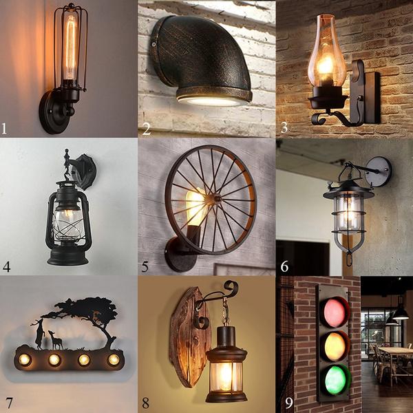 Retro Loft Style Iron Rural