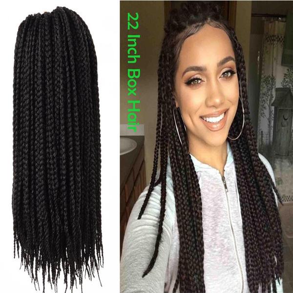 5pcslot Freetress Hair Box Braids Water Wave Bulk Crochet Latch
