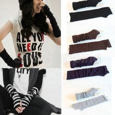 cableknitbeanie, Goth, Striped, Mittens